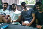 Rishabh Pant, R.Sridhar, Shikhar Dhawan & Jasprit Bumrah