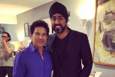 Sachin Tendulkar & Magic Singh