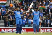 Shikhar Dhawan and MS Dhoni