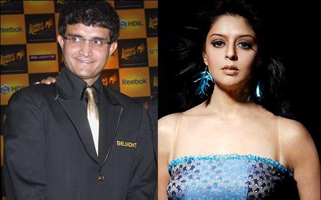 Sourav Ganguly and Nagma