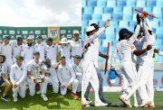South Africa and Sri Lanka Test teams