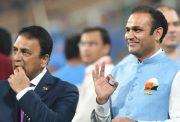 Sunil Gavaskar and Virender Sehwag