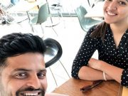 Suresh Raina and his wife