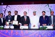 Officials at the launch of Afghanistan Premier League