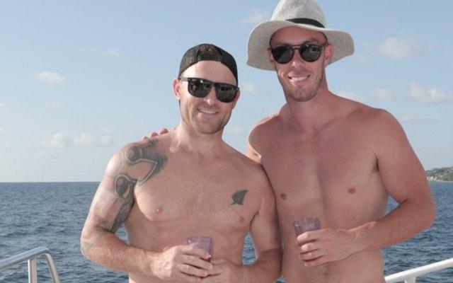 Brendon McCullum and Chris Lynn