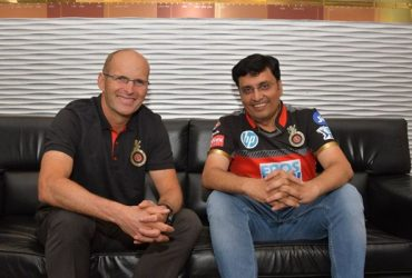 Gary Kirsten and Sanjeev Churiwala