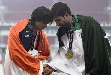 Neeraj Chopra and Arshad Nadeem