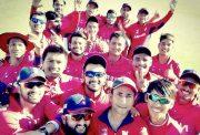 Nepal teammates celebrates their first ever ODI win