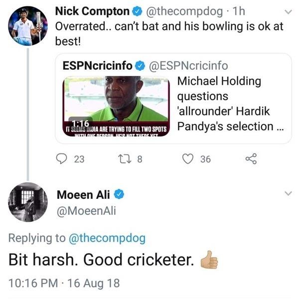 Nick Compton's tweet
