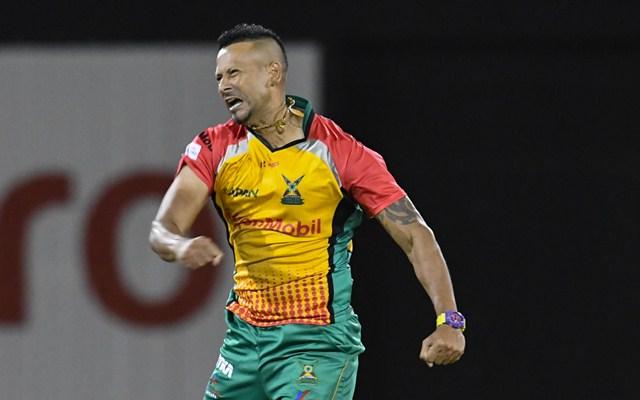 Rayad Emrit of Guyana Amazon Warriors