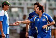 Sachin Tendulkar and Arjun Tendulkar