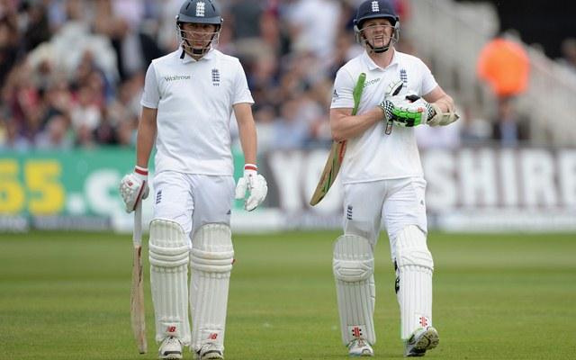 Sam Robson & Gary Ballance Test