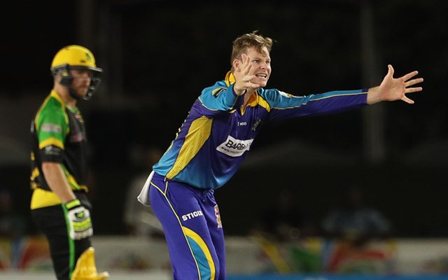 Steve Smith of Barbados Tridents