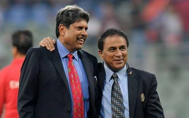 Sunil Gavaskar & Kapil Dev