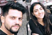 Suresh Raina & Priyanka Raina