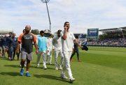Virat Kohli and his team Team India