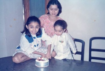 Virat Kohli and his sister Bhawna Kohli Dingra