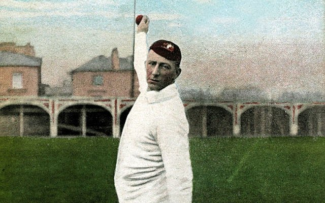 Warwick Armstrong bowling