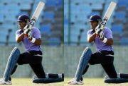Yashpal Singh plays a shot