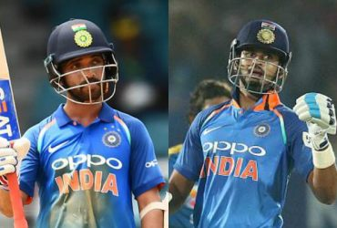 Ajinkya Rahane and Shreyas Iyer