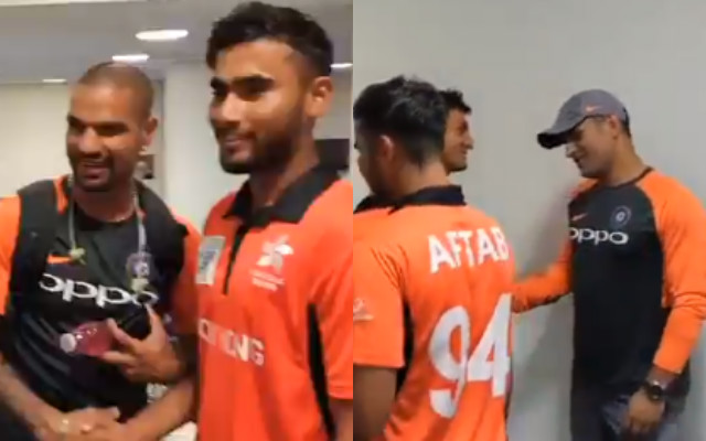 India and Hong Kong players
