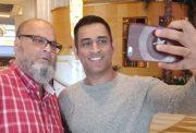MS Dhoni and Basheer Chacha