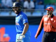 Rohit Sharma dismissal