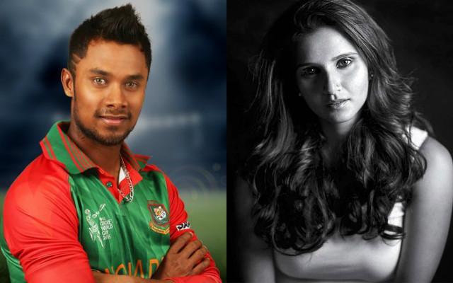 Sabbir Rahman and Sania Mirza