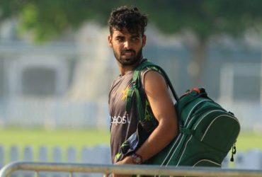 Shadab Khan of Pakistan