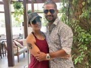 Shikhar Dhawan and Ayesha Dhawan