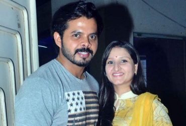 Sreesanth and Bhuvneshwari Kumari