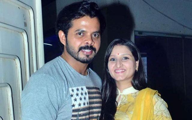 Sreesanth and Bhuvneshwari Kumari