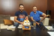 Virender Sehwag and Shahid Afridi