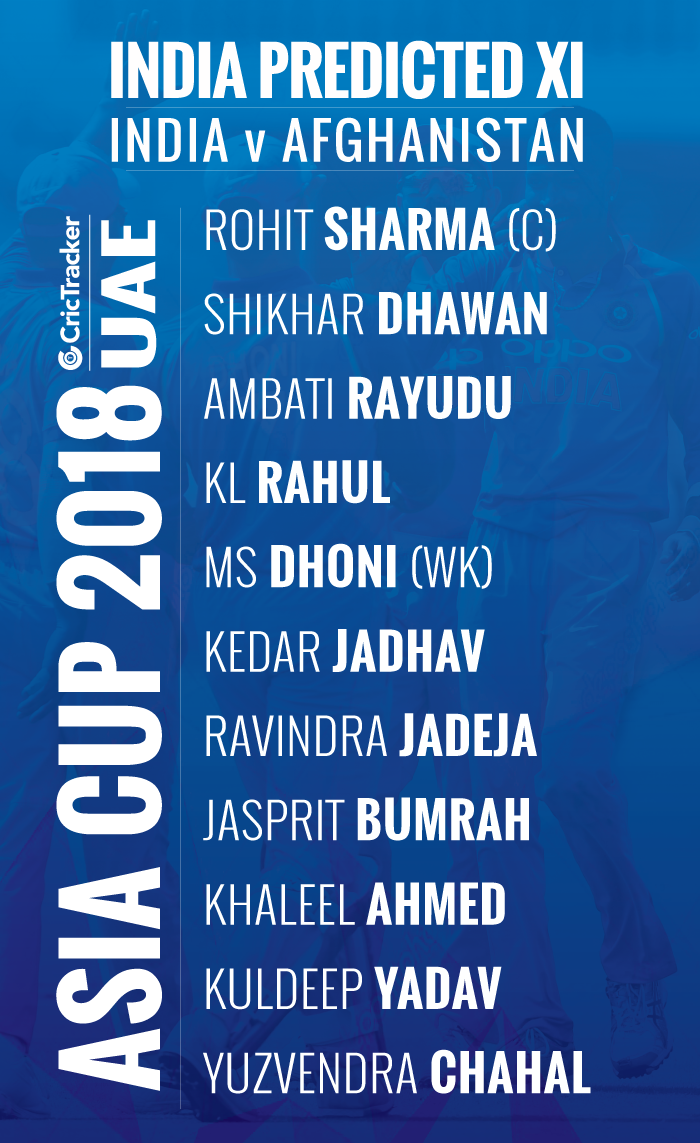 playing-xi-INDIA-FOR-ASIA-CUP-2018-MATCH-BETWEEN-India-vs-Afghanistan