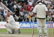 Andrew Flintoff and Ricky Ponting