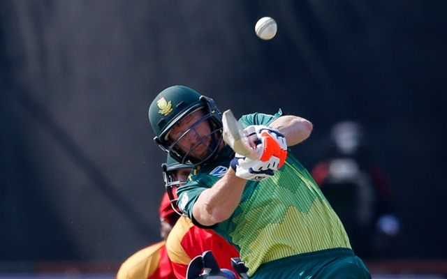 South Africa's Heinrich Klaasen