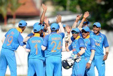 India U19 team