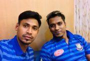 Mustafizur Rahman and Rubel Hossain
