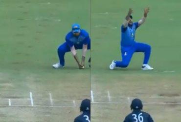 Rohit Sharma's catch