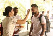 Virat Kohli gets a warm welcome in Kerala