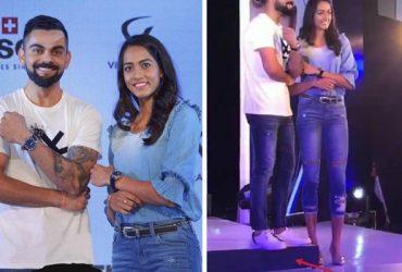 Virat Kohli and Karman Kaur Thandi