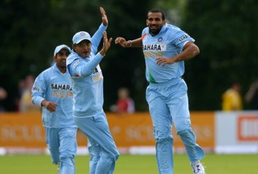 Zaheer Khan and Sourav Ganguly