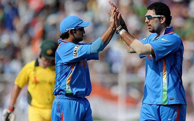 Yuvraj Singh and Gautam Gambhir