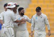 New Zealand spinner Ajaz Patel