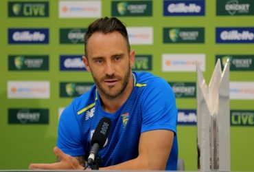 Faf du Plessis of South Africa