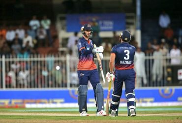 Hazratullah Zazai and Alex Hales