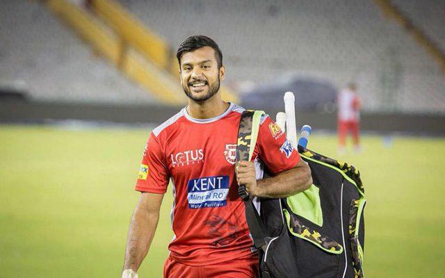 Mayank Agarwal KXIP