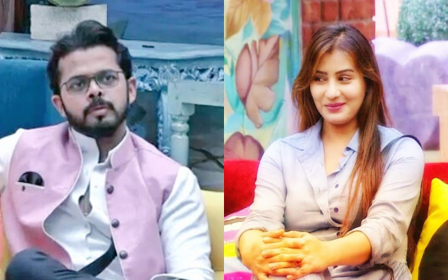 Shilpa Shinde and Sreesanth