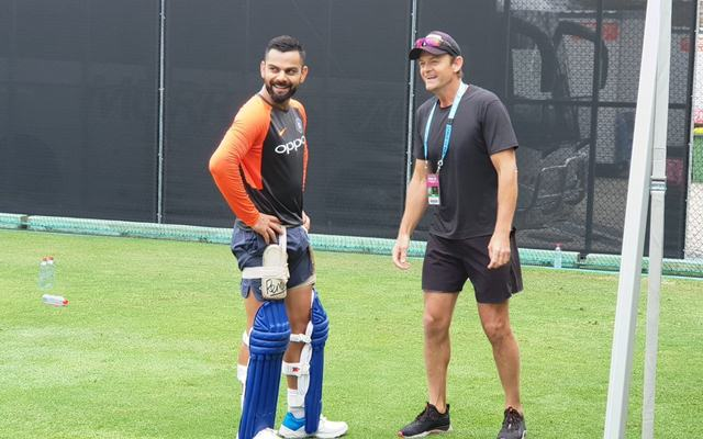 Virat Kohli and Adam Gilchrist