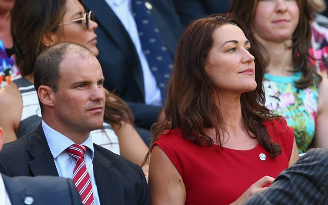 Andrew Strauss and Ruth
